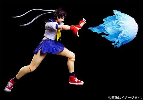 Figurka Street Fighter S.H. Figuarts - Sakura Kasugano, zdjęcie 4