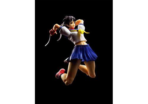 Figurka Street Fighter S.H. Figuarts - Sakura Kasugano, zdjęcie 5