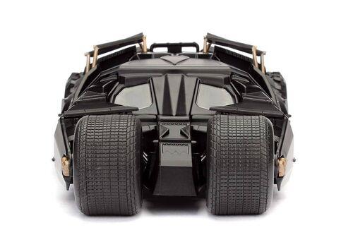 Model samochodu The Dark Knight Diecast 1/24 2008 Batmobile (Wraz z figurką Batman)
