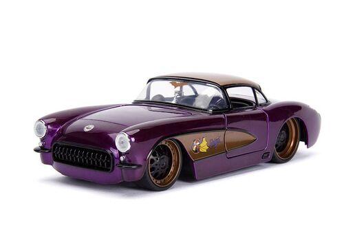 Model samochodu DC Bombshells Diecast 1/24 1957 Chevy Corvette