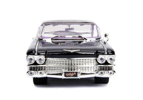 Model samochodu DC Bombshells Diecast 1/24 1959 Cadillac (Wraz z figurką Catwoman)