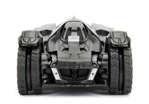 Model samochodu Batman Arkham Knight Diecast 1/24 2015 Batmobile (Wraz z figurką Batman)