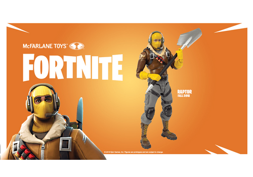 Figurka Fortnite - Raptor 18 cm
