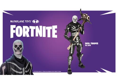 Figurka Fortnite - Skull Trooper 18 cm