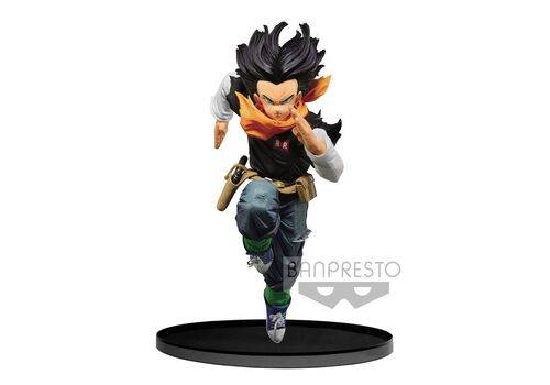 Figurka Dragon Ball Z BWFC - Android 17 Normal Color Ver.