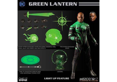Figurka DC Comics 1/12 John Stewart - The Green Lantern
