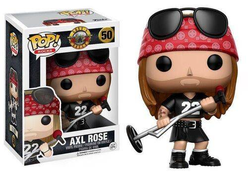 Figurka Guns N´ Roses POP! Rocks - Axl Rose