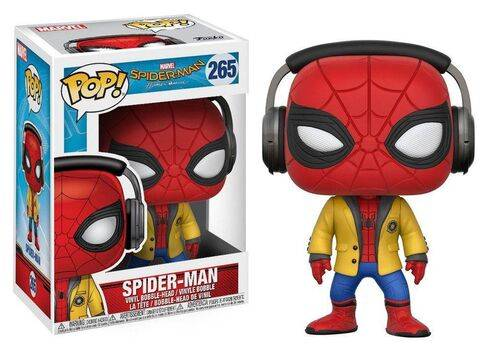 Figurka Spider-Man Homecoming POP! Spider-Man (Headphones)