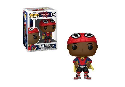 Figurka Spider-Man Animated POP! Miles Morales with Cape