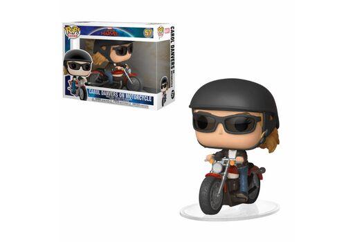 Figurka Captain Marvel POP! Rides - Carol Danvers na motorze