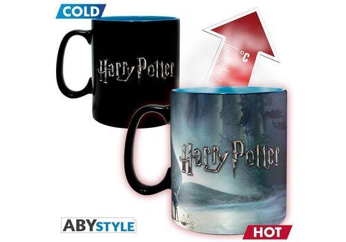 Duży kubek zmieniający kolor Harry Potter - Patronus (460 ml)