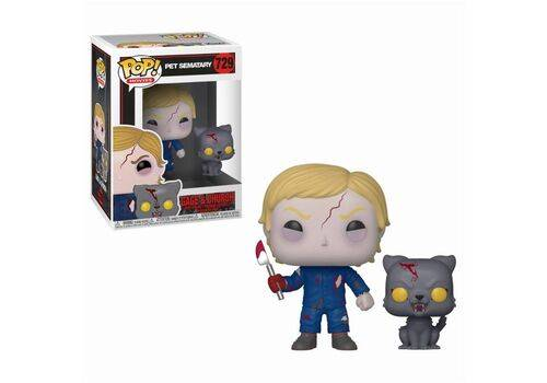 Figurka Pet Sematary POP Undead Gage & Church