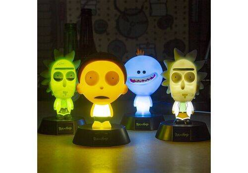 Mini Lampka Rick & Morty 3D - Rick Limited Edition