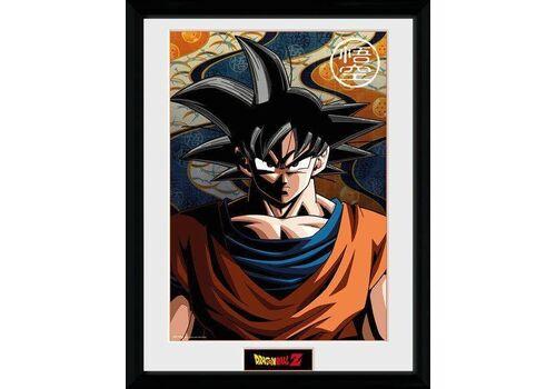 Plakat w ramie Dragon Ball Z - Son Goku 45 x 34 cm