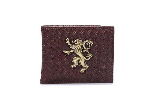Portfel z metalowym logo Gra o tron - Lannister