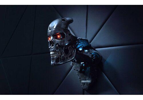 Replika Terminator 2: Judgment Day 1/1 T-800 Endoskeleton Mask, zdjęcie 7