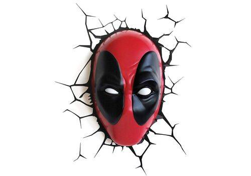 Lampka 3D LED Marvel - Deadpool