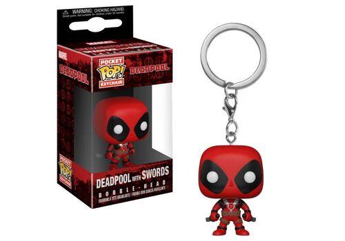 Brelok Deadpool Playtime Pocket POP! - Deadpool with Swords