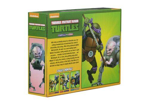 Zestaw figurek Teenage Mutant Ninja Turtles - 2-Pack Donatello vs Krang in Bubble Walker