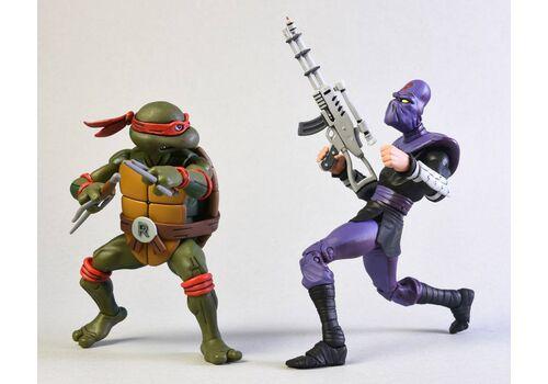 Zestaw figurek Teenage Mutant Ninja Turtles - 2-Pack Raphael vs Foot Soldier