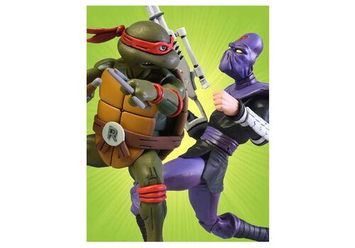 Zestaw figurek Teenage Mutant Ninja Turtles - 2-Pack Raphael vs Foot SoldierZestaw figurek Teenage Mutant Ninja Turtles - 2-Pack Raphael vs Foot Soldier