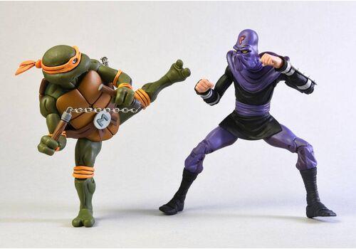 Zestaw figurek Teenage Mutant Ninja Turtles - 2-Pack Michelangelo vs Foot Soldier, zdjęcie 2