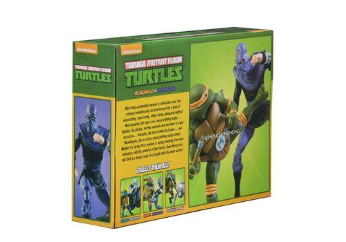 Zestaw figurek Teenage Mutant Ninja Turtles - 2-Pack Michelangelo vs Foot Soldier, zdjęcie 5