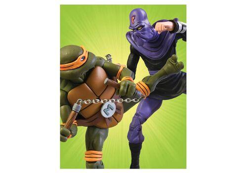 Zestaw figurek Teenage Mutant Ninja Turtles - 2-Pack Michelangelo vs Foot Soldier, zdjęcie 6