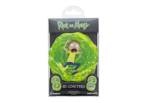 Podstawki Rick & Morty (zestaw czterech)