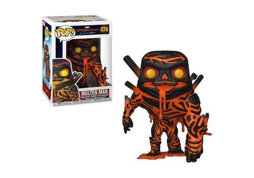 Figurka Spider-Man: Far From Home POP! Molten Man