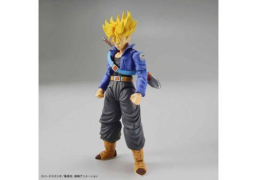Figurka do złożenia Dragon Ball Z - Super Saiyan Trunks (ruchoma)