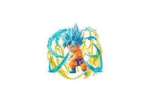 Figurka Dragon Ball Super WCF ChiBi Burst - Super Saiyan Blue Son Goku 7 cm, zdjęcie 1