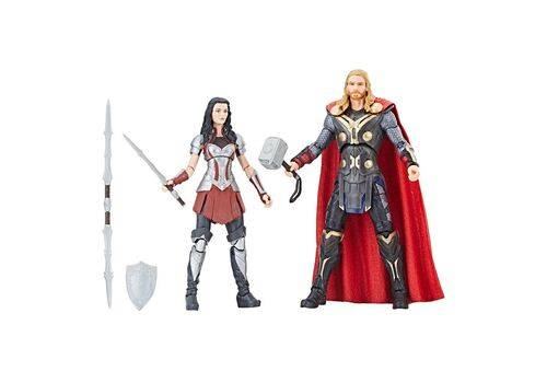 Zestaw figurek Marvel Legends - Thor & Lady Sif (Thor: The Dark World), zdjęcie 1