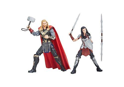 Zestaw figurek Marvel Legends - Thor & Lady Sif (Thor: The Dark World), zdjęcie 2