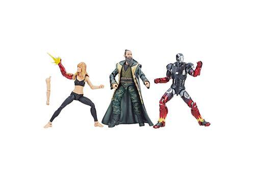 Zestaw figurek Marvel Legends - Pepper, Iron Man Mark XXII, Mandarin