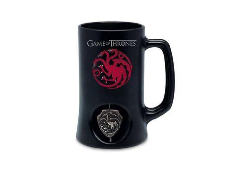 Kufel Gra o Tron - Targaryen (Rotujący Herb)