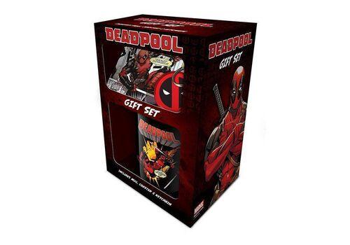 Zestaw prezentowy Deadpool - Merc With a Mouth