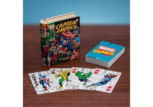 Karty do gry Marvel - Comic Book