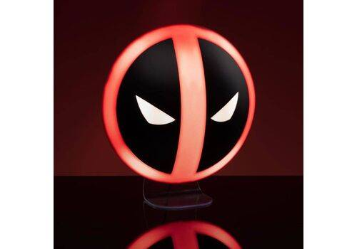 Lampka Marvel - Deadpool Logo