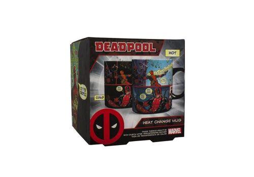 Kubek zmieniający kolor Marvel - Deadpool