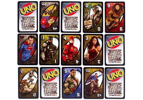 Gra karciana UNO - Justice League *Angielska wersja*