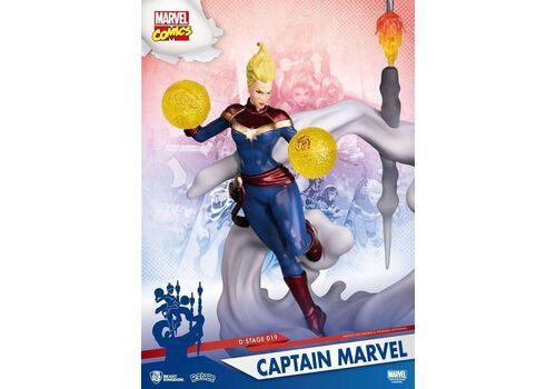 Figurka Marvel D-Stage - Diorama Captain Marvel