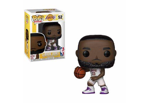 Figurka NBA POP! Sports - LeBron James White Uniform (Lakers)