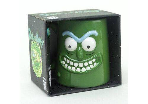 Kubek ceramiczny Rick & Morty 3D Pickle Rick