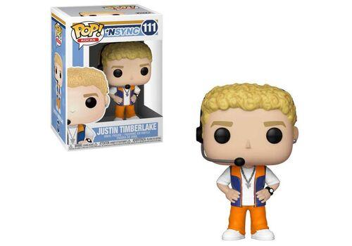 Figurka NSYNC POP! Rocks - Justin Timberlake