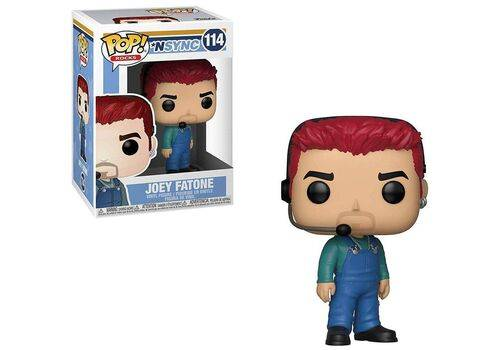 Figurka NSYNC POP! Rocks - Joey Fatone