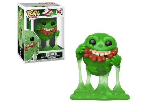 Figurka Pogromcy Duchów POP! - Slimer with Hot Dogs