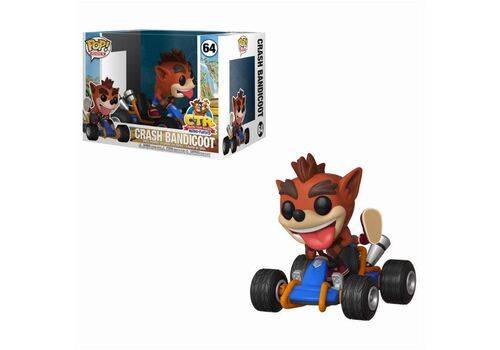 Figurka z pojazdem Crash Team Racing POP! Rides - Crash Bandicoot