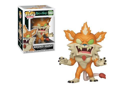 Figurka Rick and Morty POP! - Berserker Squanchy