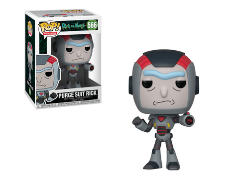 Figurka Rick and Morty POP! - Purge Suit Rick